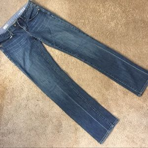 Gap Real Straight Jean (Size 8)